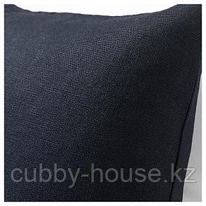 ВИГДИС Чехол на подушку, темно-синий, 50x50 см, фото 2