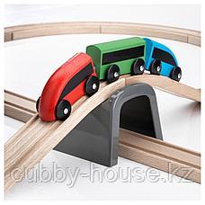ЛИЛЛАБУ Железная дорога, набор, 20 предм, разноцветный, фото 2
