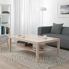 ЛАКК Журнальный стол, под беленый дуб, 118x78 см, фото 3