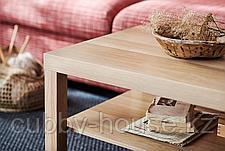 ЛАКК Журнальный стол, под беленый дуб, 118x78 см, фото 2