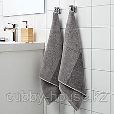 ХИМЛЕОН Полотенце, темно-серый, меланж, 50x100 см, фото 3