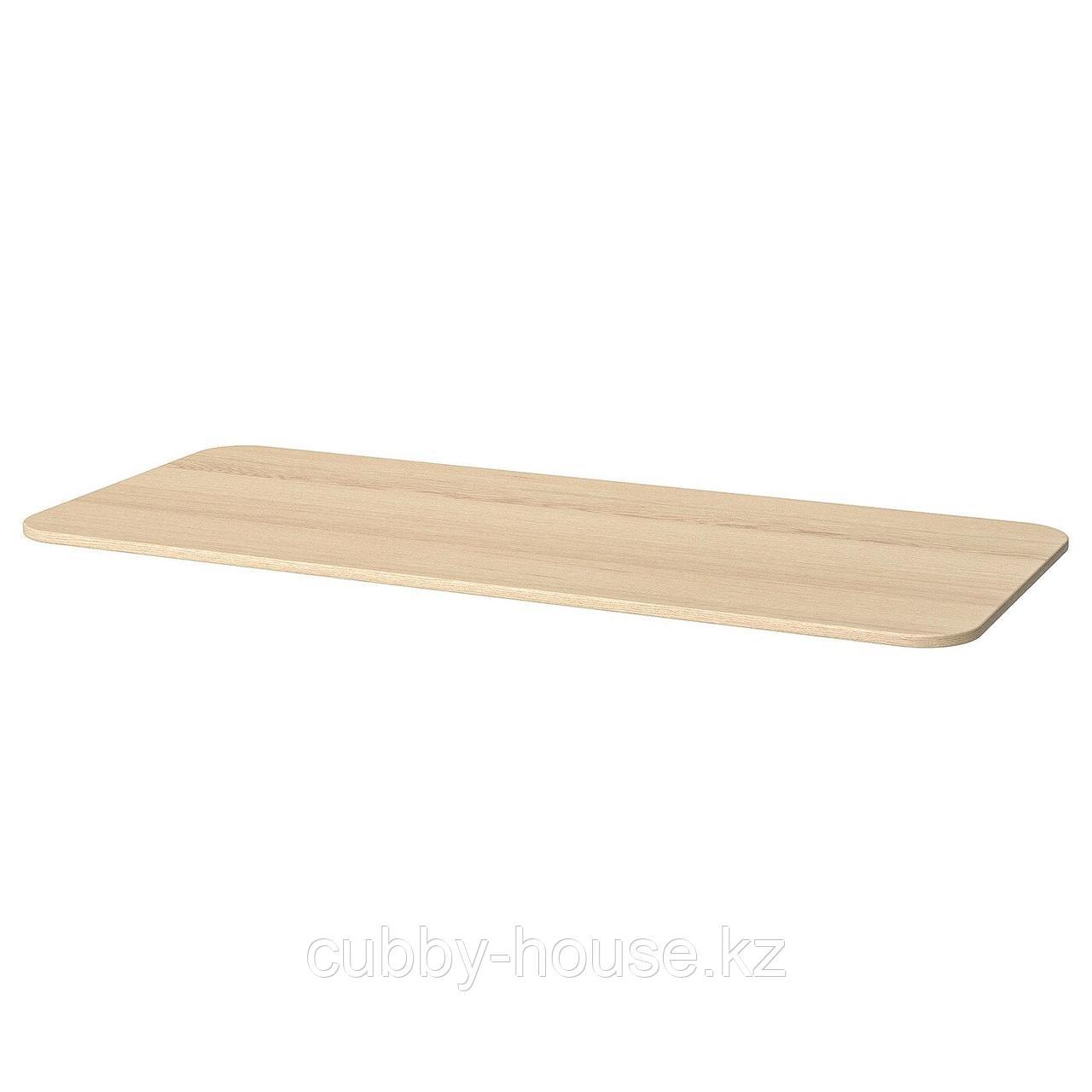 БЕКАНТ Столешница, белый, 140x60 см