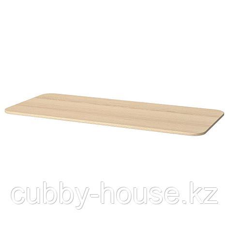 БЕКАНТ Столешница, белый, 140x60 см, фото 2