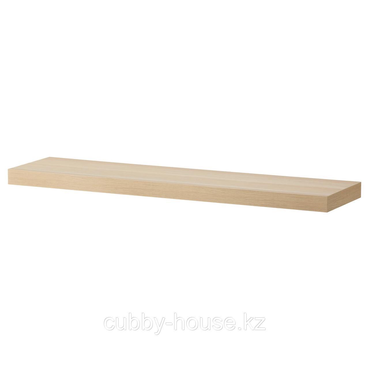 ЛАКК Полка навесная, белый, 110x26 см