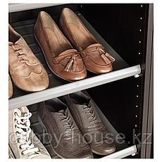 КОМПЛИМЕНТ Полка для обуви, темно-серый, 50x35 см, фото 3