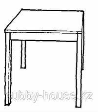 ИНГУ Стол, сосна, 75x75 см, фото 2