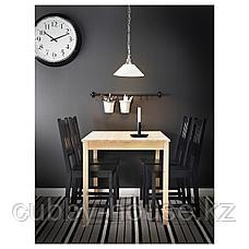 ИНГУ Стол, сосна, 75x75 см, фото 3