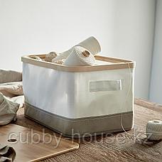 РАБЛА Коробка с крышкой, 25x35x20 см, фото 3
