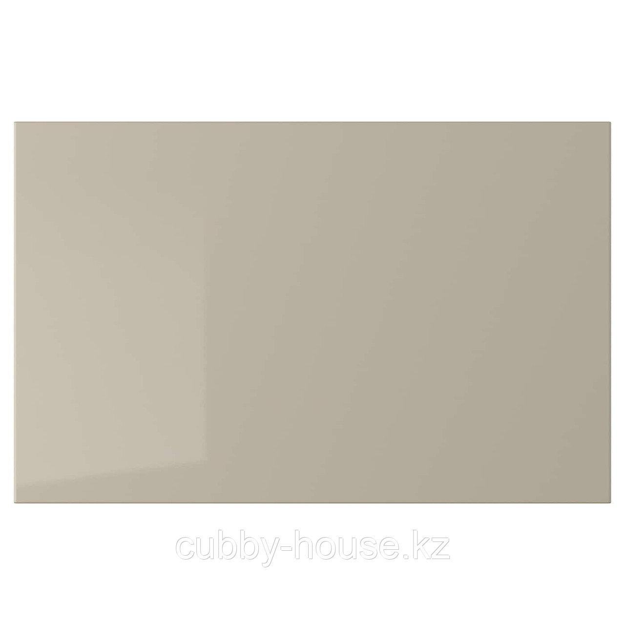 СЕЛЬСВИКЕН Дверь/фронтальная панель ящика, глянцевый темный красно-коричневый, 60x38 см