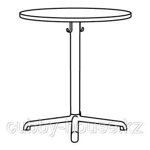 СТЕНСЕЛЕ Стол, светло-серый, светло-серый, 70 см, фото 2