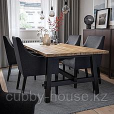 СКОГСТА Стол обеденный, акация, 235x100 см, фото 3