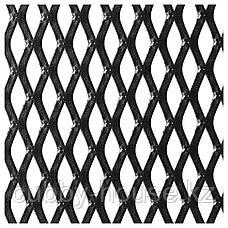 ФЬЕЛЛЬБО Стеллаж, черный, 100x95 см, фото 3