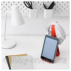 МЁЙЛИГХЕТ Подставка для планшета и наушников, красный, фото 3