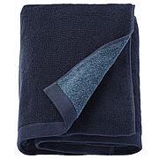 ХИМЛЕОН Банное полотенце, темно-синий, меланж, 70x140 см