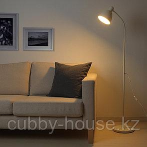 ЛЕРСТА Светильник напольный/для чтения, белый, фото 2