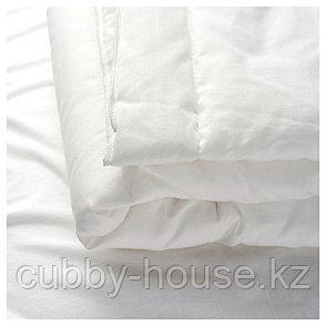 ЛЕН Одеяло в детскую кроватку, белый, 110x125 см, фото 2