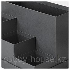 ТЬЕНА Подставка д/канцелярских принадлежн, черный, 18x17 см, фото 2