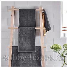 ВОГШЁН Банное полотенце, темно-серый, 70x140 см, фото 2
