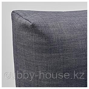 ФРИХЕТЭН Подушка, Шифтебу темно-серый, 67x47 см, фото 2