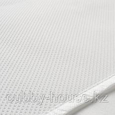 ЛЕНАСТ Водоотталкивающий наматрасник, белый, 70x160 см, фото 3