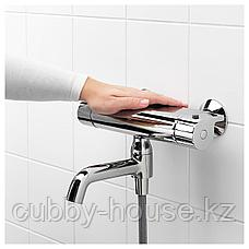 ВАЛЛАМОССЕ Термостатическ смеситель/душ/ванная, хромированный, 150 мм, фото 3