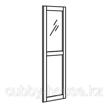 ВЭРД Панельн/стеклян дверца, белый, 40x180 см, фото 2