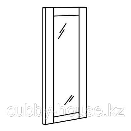 РИДАБУ Дверца с петлями, белый, 60x120 см, фото 2