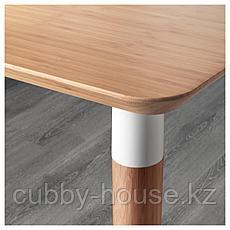 ХИЛВЕР Стол, бамбук, 140x65 см, фото 3