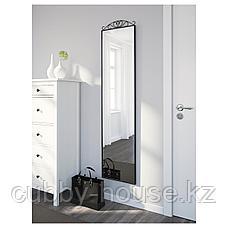 КАРМСУНД Зеркало напольное, черный, 40x167 см, фото 3