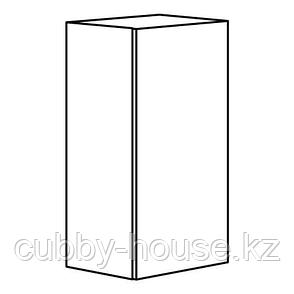 КНОКСХУЛЬТ Навесной шкаф с дверцей, серый, 40x75 см, фото 2