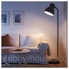 ХЕКТАР Светильник напольный, темно-серый, фото 3