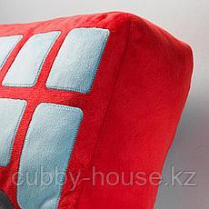 УППТОГ Подушка, красный, 45x27 см, фото 2