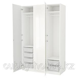 ПАКС Гардероб, белый, Фардаль Викедаль, 150x60x236 см, фото 2