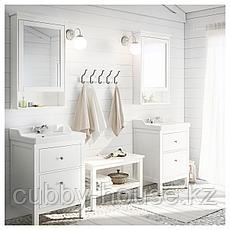 ХЕМНЭС Скамья, белый, 83 см, фото 3