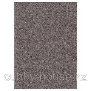 АЛЛЕРСЛЕВ Ковер, длинный ворс, коричневый, 200x300 см, фото 2