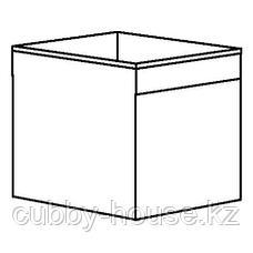 ДРЁНА Коробка, белый, 33x38x33 см, фото 2