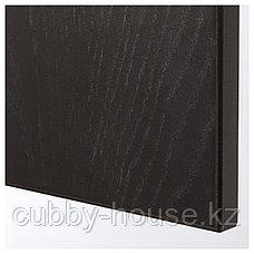 ПАКС Гардероб, черно-коричневый, Форсанд под мореный ясень, черно-коричневый, 150x60x236 см, фото 3