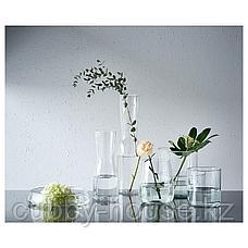 ТИДВАТТЕН Ваза, прозрачное стекло, 30 см, фото 2