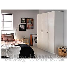 ПАКС Гардероб, белый, Бергсбу белый, 150x60x201 см, фото 3
