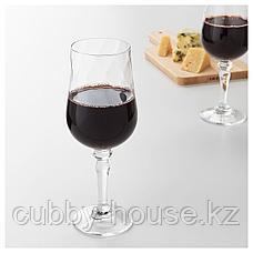 КОНУНГСЛИГ Бокал для вина, прозрачное стекло, 40 сл, фото 3