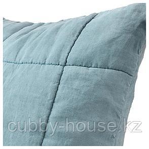 ГУЛЬВЕД Чехол на подушку, зеленый, 65x65 см, фото 2