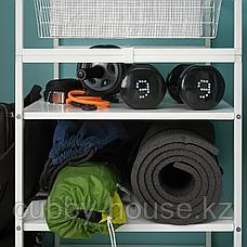 ЙОНАКСЕЛЬ Каркас/проволочные корзины/штанги, 142-178x51x173 см, фото 2