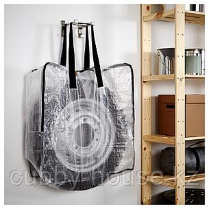 ДИМПА Мешок, прозрачный, 65x22x65 см, фото 2