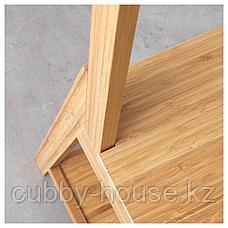 РОГРУНД Стул с держателями д/полотенец, бамбук, фото 2