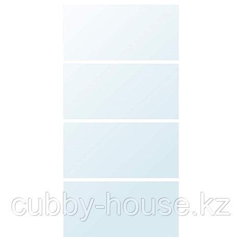 АУЛИ 4 панели д/рамы раздвижной дверцы, зеркальное стекло, 75x201 см, фото 2