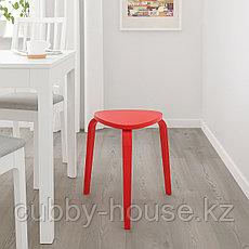 КЮРРЕ Табурет, ярко-красный, фото 3