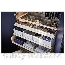 КОМПЛИМЕНТ Вставка с 4 отделениями, светло-серый, 15x53x5 см, фото 3