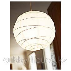 РЕГОЛИТ Абажур для подвесн светильника, белый, 45 см, фото 3