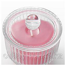 БЛОМДОРФ Ароматическая свеча в стакане, Пион, розовый, 9 см, фото 2
