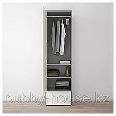 ВИСТХУС Гардероб, серый, белый, 63x59x216 см, фото 2